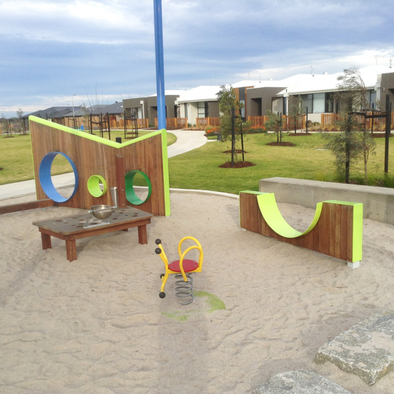 Playwall design and construction