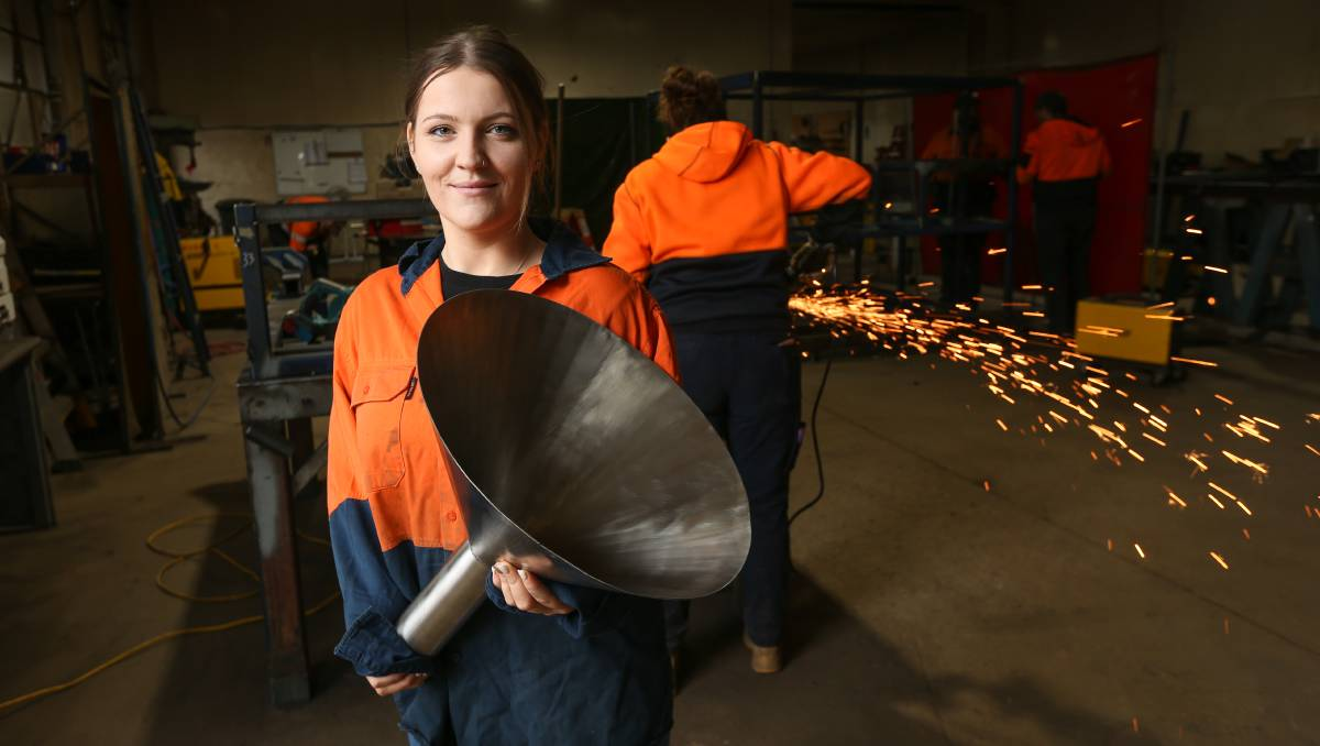 Wangaratta's Brittany Gibbs takes leap into Girls of Steel course